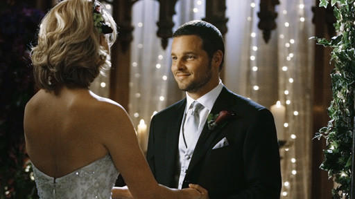 Izzie and Alex Get Married