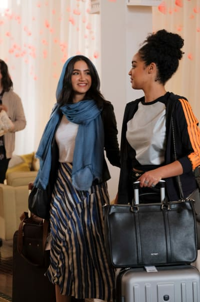 Kat and Adena in Paris - The Bold Type Season 2 Episode 10