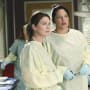 Callie and Meredith at Work - Grey's Anatomy Season 11 Episode 7