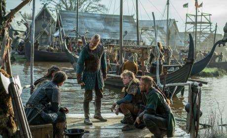 The Sons of Ragnar Prepare for Battle - Vikings Season 4 Episode 18