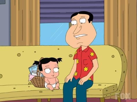 Glen Quagmire and Baby