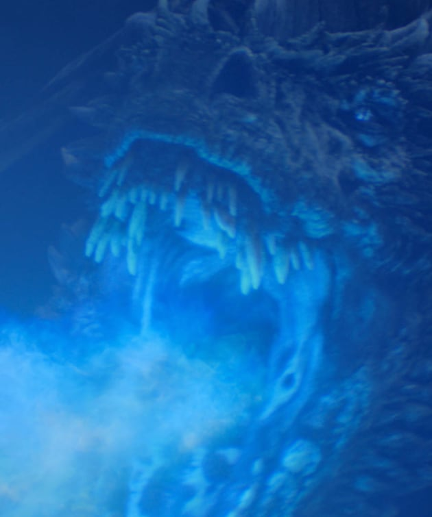 The Blue Dragon - Game of Thrones Season 8 Episode 3