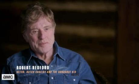AMC's The American West Clip: Burt Reynolds and Robert Redford Talk Jesse James