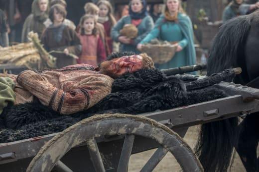 Ubbe Injured - Vikings Season 5 Episode 19