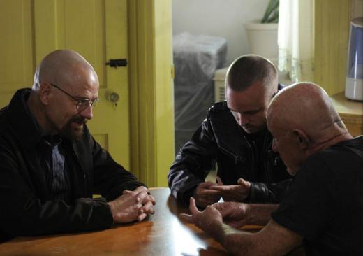 Walt, Jesse and Mike
