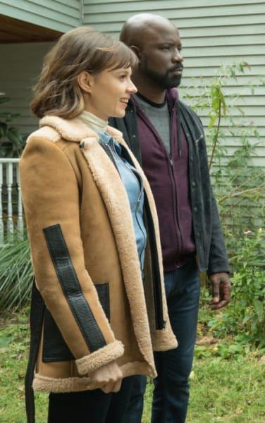 Acosta and Kristen - EVIL Season 1 Episode 8