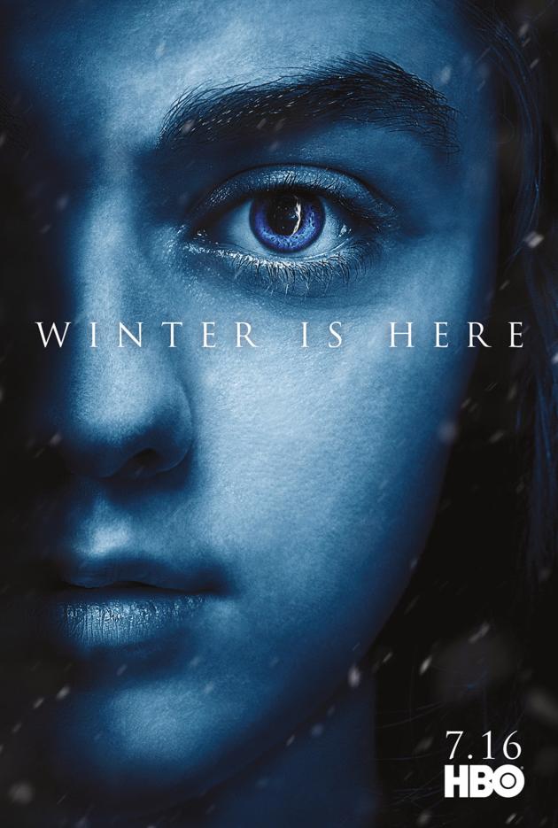 Arya Stark Season 7 Poster Game Of Thrones Tv Fanatic