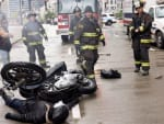 A Motorcycle Accident - Chicago Fire