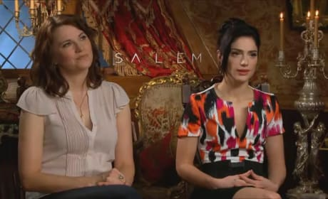 Janet Montgomery and Lucy Lawless Interview