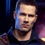 Luke Macfarlane as D'avin Jaqobis - Killjoys Season 1 Episode 1