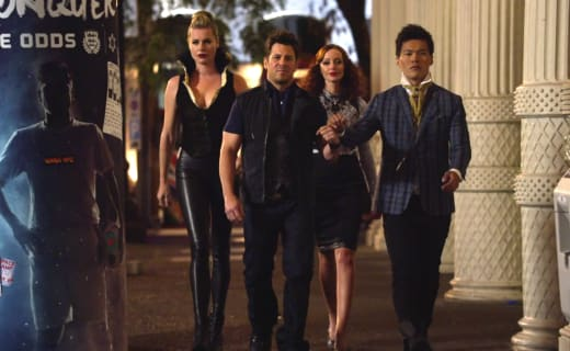 Going to the Club - The Librarians Season 2 Episode 7