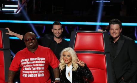 The Voice Coaches at Finale