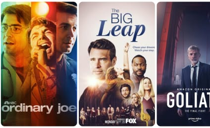 What to Watch: Ordinary Joe, The Big Leap, Goliath