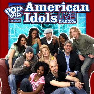 Promotional Poster For American Idol Tour