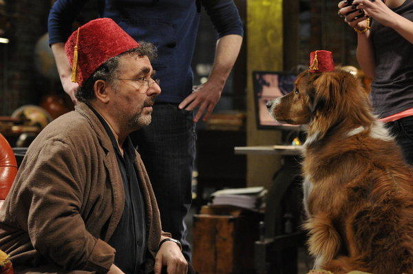 Artie and a Dog