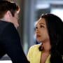Barry Comforts Iris - The Flash Season 5 Episode 4