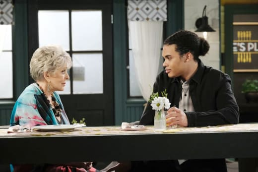 Theo's Surprising News - Days of Our Lives