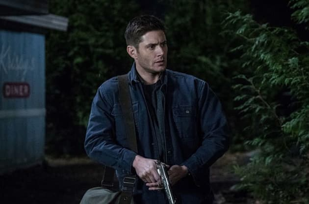 Dean Has A Gun - Supernatural Season 13 Episode 17