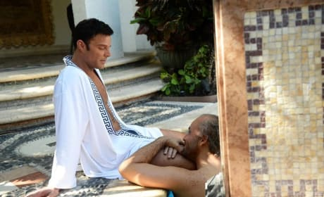 By The Pool- American Crime Story: Versace Season 1 Episode 2