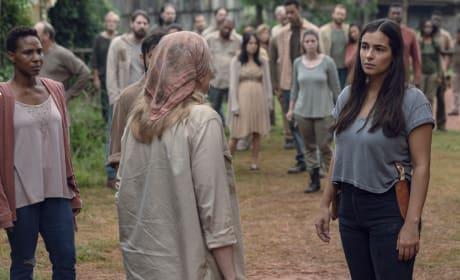 Stepping U p - The Walking Dead Season 9 Episode 9