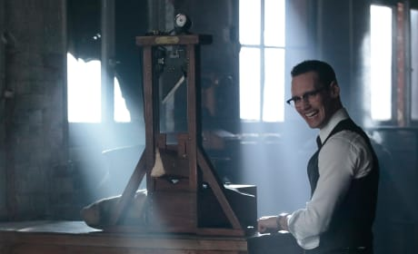Nygma Gone Mad - Gotham Season 3 Episode 10
