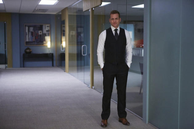 Gabriel Macht is Harvey Specter in Suits