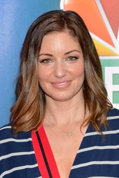 Bianca Kajlich Attends NBC Upfronts