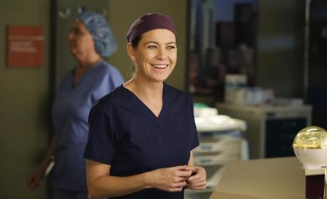 Very Happy Meredith - Grey's Anatomy