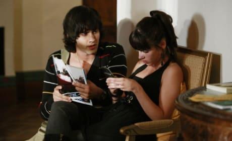Navid and Adrianna