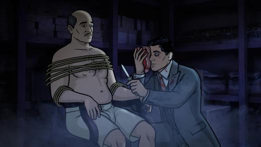 Archer and Len Trexler Season 8 Episode 7