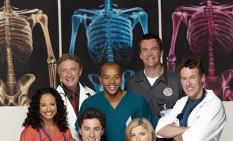 Scubs Cast Picture