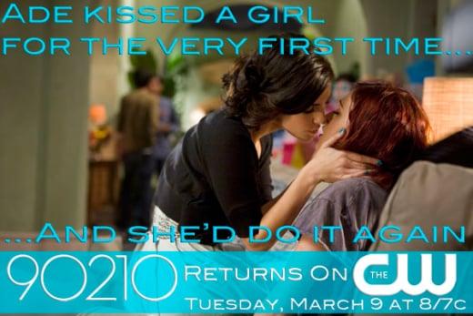 90210 Lesbian Poster