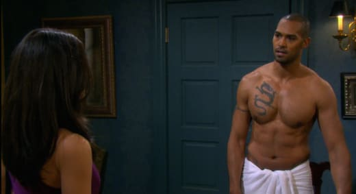 Eli In a Towel - Days of Our Lives