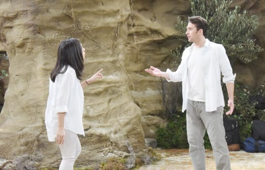 Gabi and Chad Argue - Days of Our Lives