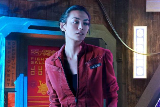 Florence Faivre as Julie Mao - The Expanse - TV Fanatic