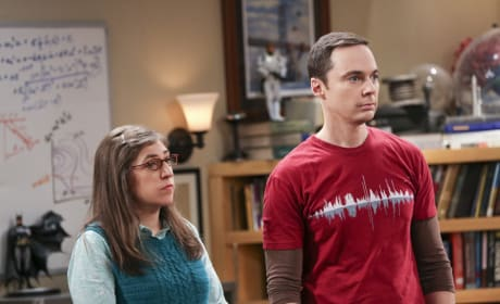 Amy and Sheldon are Still Reeling From That Trip - The Big Bang Theory Season 10 Episode 12