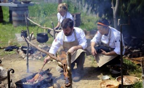 Making Like Pilgrims - Top Chef