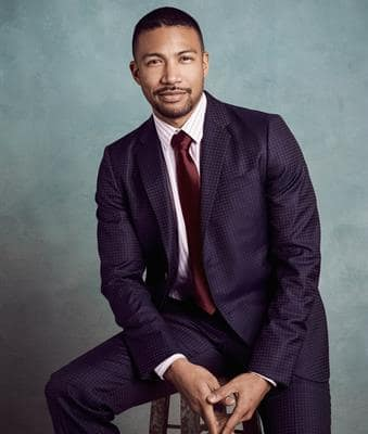 Charles Michael Davis as Zane Anders - Younger