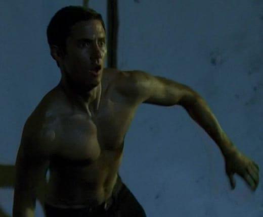 Peter Petrelli Shirtless
