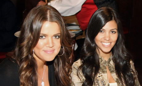 Khloe and Kourtney Pic