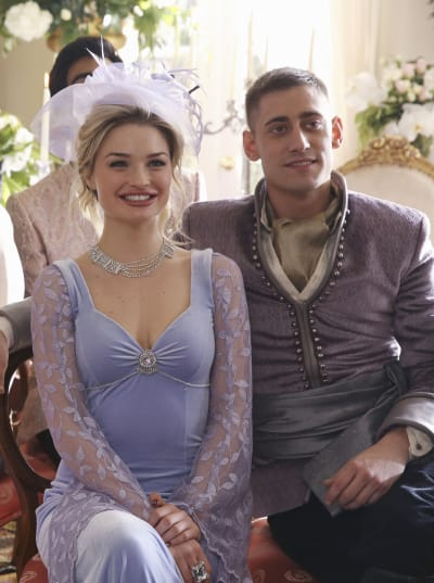 Will and Anastasia Happily Ever After - Once Upon a Time in Wonderland Season 1 Episode 13
