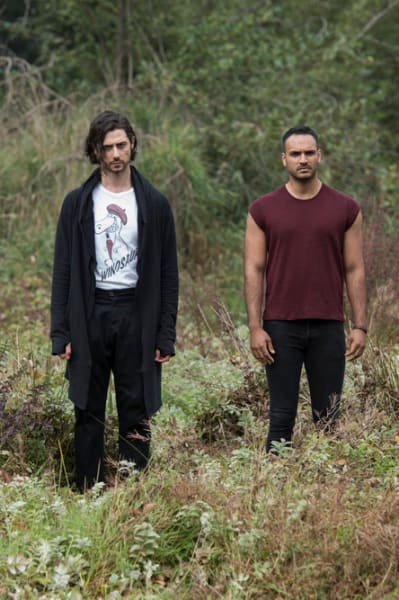 Penny and the Monster Watching Something - The Magicians Season 4 Episode 9