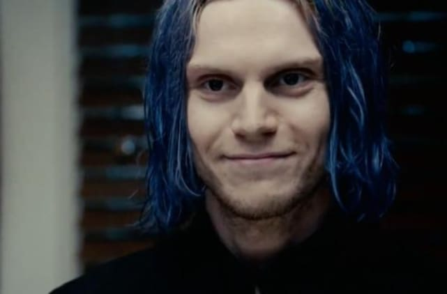 Evan Peters as Kai on American Horror Story
