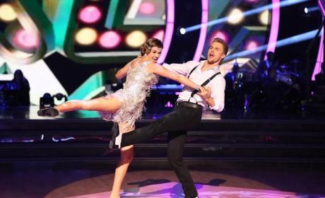 Sadie Robertson and Derek Hough Dance The Charleston - Dancing With the Stars Season 19 Episode 7