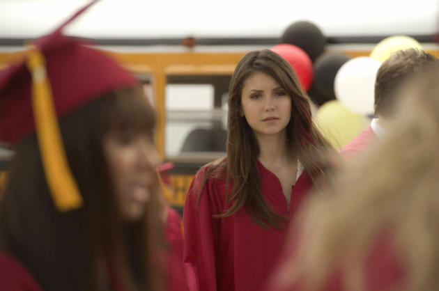 Elena Gilbert at Graduation