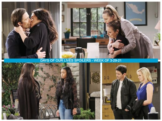 Spoilers for the Week of 3-29-21 - Days of Our Lives