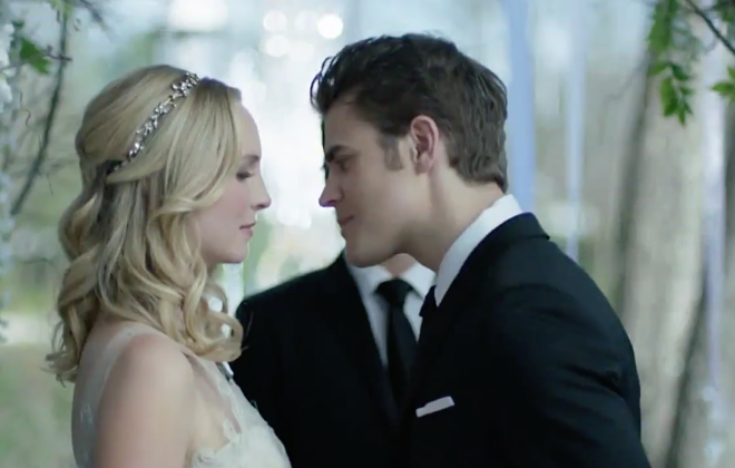 The Vampire Diaries: Will Katherine Ruin the Steroline Wedding?!?