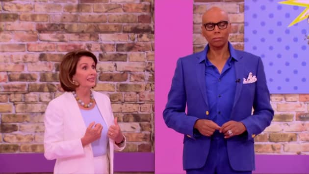 Nancy Pelosi - RuPaul's Drag Race All Stars Season 3 Episode 7