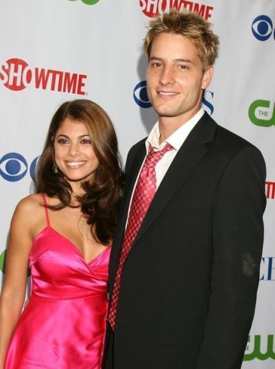 Justin and Lindsay Hartley