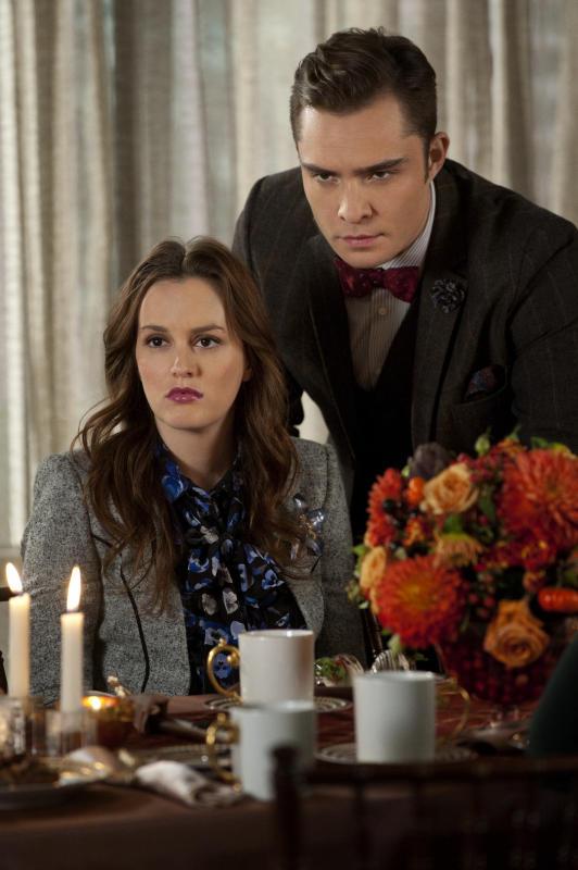 Chuck and Blair at Thanksgiving